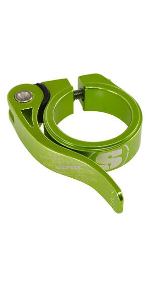 Sixpack Menace Sadelklemme 34,9 mm grøn